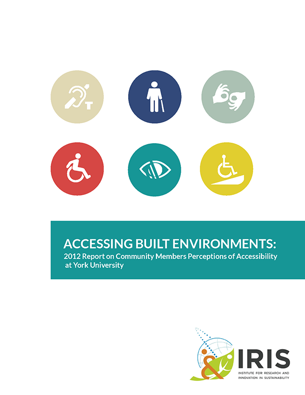 Accessibility Report 2012