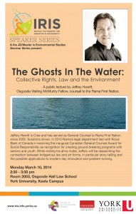 The Ghosts In The Water: Collective Rights, Law and the Environment @ 2003 Osgoode Hall | Toronto | Ontario | Canada